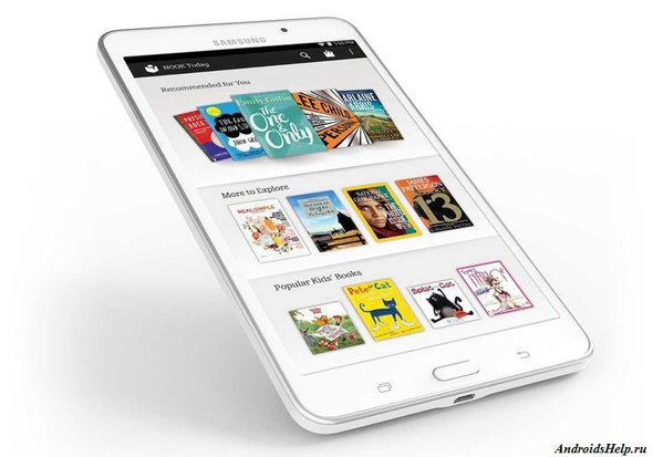 galaxy tab4 nook
